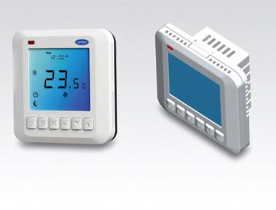 Termostato programable digital carrier ventas climader for Termostato digital calefaccion programable